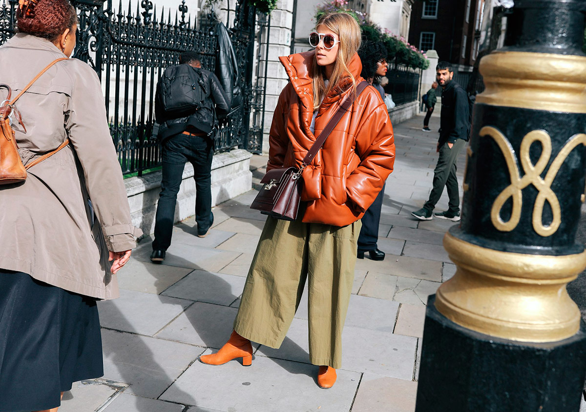 Street Style a la London Fashion Week SS18