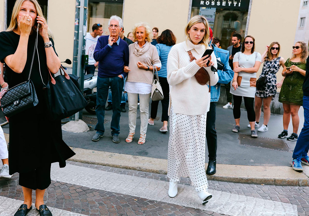 STREET STYLE A LA MILAN FASHION WEEK SS18