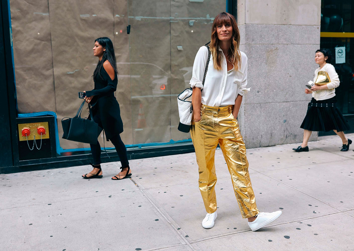Street Style a la New York Fashion Week SS18